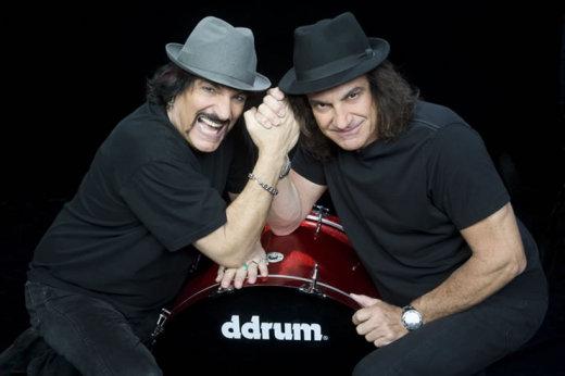 Carmine e Vinny Appice