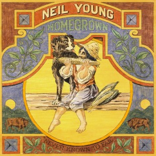 Neil Young - Homegrown cover