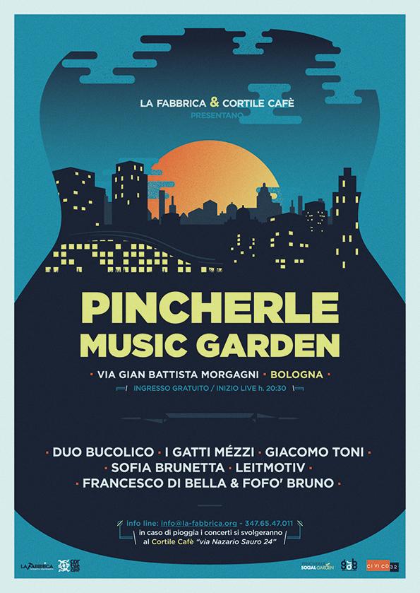 PINCHERLE MUSIC GARDEN a Bologna