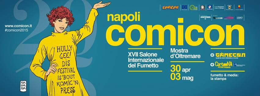 Napoli Comicon Live! Il festival del fumetto suona dal vivo