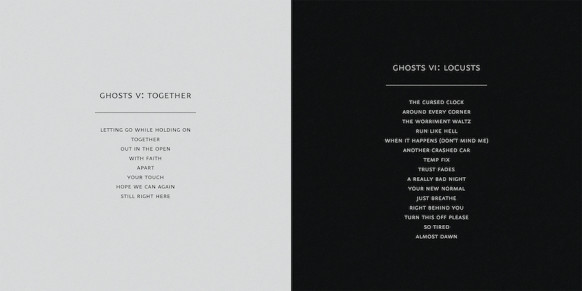 ghosts_V-VI_Tracklistings