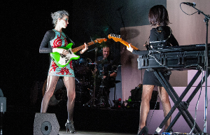 St. Vincent – Digital Witness Tour @ Auditorium Parco della Musica (RM) 16//11/14