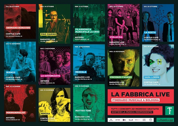 La Fabbrica Live – itinerario musicale a Bologna