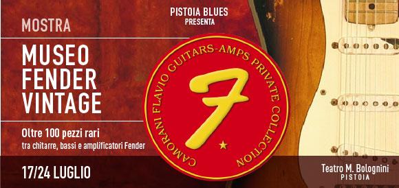 Fender Vintage Museum @ Pistoia Blues 2015