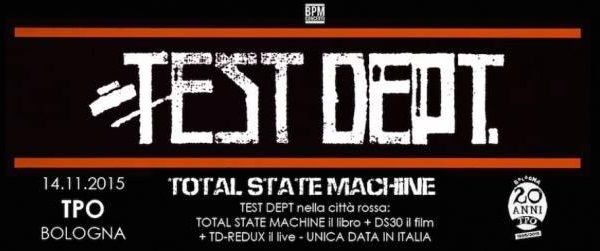 Test Dept: unica data italiana per la storica band industrial britannica
